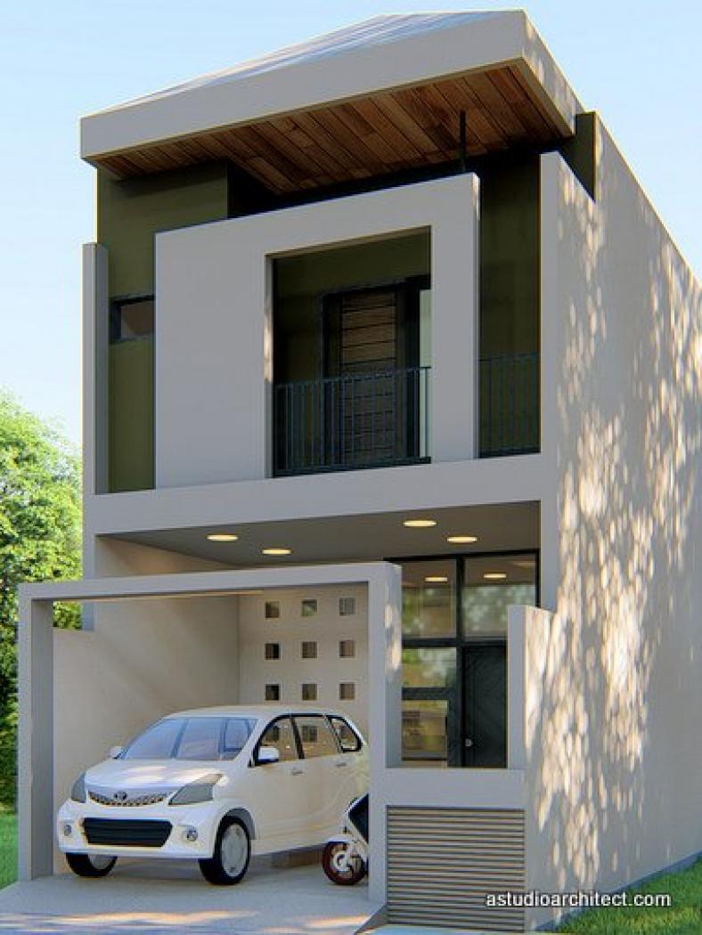 Jual Desain Rumah Desain Rumah Mungil 2 Lantai 5x12 M